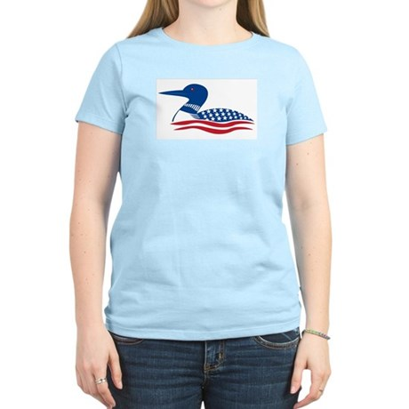 Proud Loon: Women's Pink T-Shirt