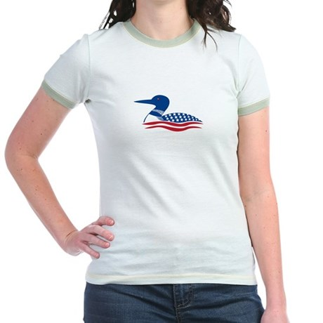 Proud Loon: Jr. Ringer T-Shirt