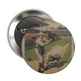 "1897 Strobridge Baseball Poster 2.25"" Button"