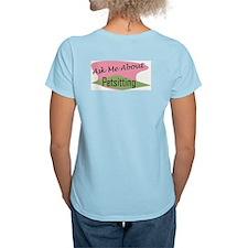 I Love Your Pet Women's Pink T-Shirt