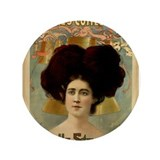 "Waite's Comedy Co. - Belle Stevenson 3.5"" Button"