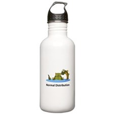 Normal Distribution Sports Water Bottle