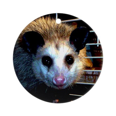 The Opossum Ornament (Round)