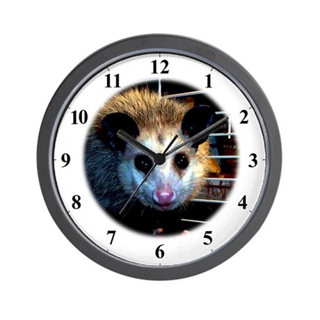 The Opossum Wall Clock