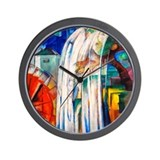Marc - Bewitched Mill Wall Clock