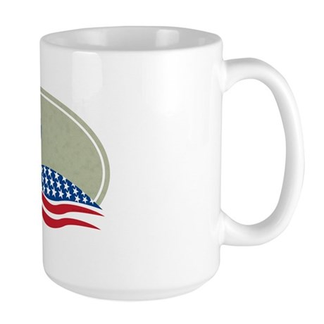 Proud Loon Oval: Large Mug