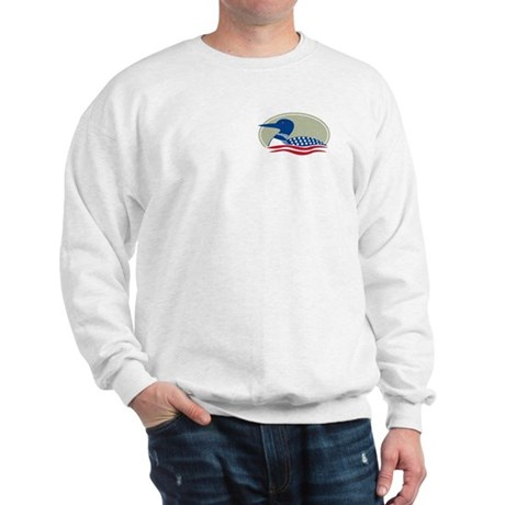 Proud Loon Oval: Sweatshirt