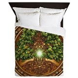 Sacred Celtic Trees - Oak Queen Duvet