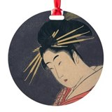 Utamaro - Courtesan Ornament