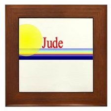Jude Framed Tile