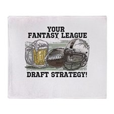 Draft Strategy Throw Blanket