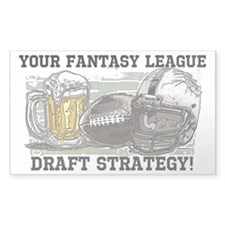 Draft Strategy Decal