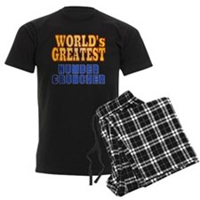 World's Greatest Number Cruncher Pajamas