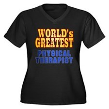 World's Greatest Physical Therapist Women's Plus S