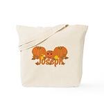 Halloween Pumpkin Joseph Tote Bag