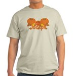 Halloween Pumpkin Joseph Light T-Shirt