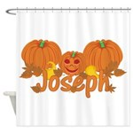 Halloween Pumpkin Joseph Shower Curtain