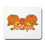 Halloween Pumpkin Joseph Mousepad