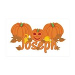 Halloween Pumpkin Joseph 35x21 Wall Decal