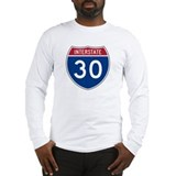 I-30 Highway Long Sleeve T-Shirt