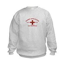 Zombie Rescue Squad Sweatshirt