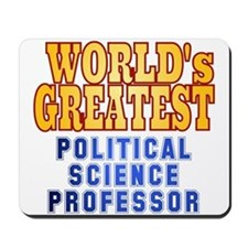 World's Greatest Political Science Professor Mouse