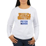 World's Greatest Psych Nurse T-Shirt