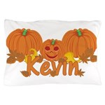 Halloween Pumpkin Kevin Pillow Case