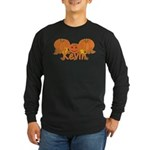 Halloween Pumpkin Kevin Long Sleeve Dark T-Shirt