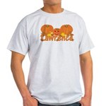 Halloween Pumpkin Lawrence Light T-Shirt