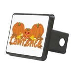 Halloween Pumpkin Lawrence Rectangular Hitch Cover