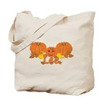 Halloween Pumpkin Lee Tote Bag