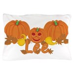 Halloween Pumpkin Lee Pillow Case