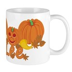 Halloween Pumpkin Lee Mug