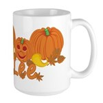 Halloween Pumpkin Lee Large Mug