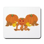 Halloween Pumpkin Lee Mousepad