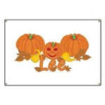 Halloween Pumpkin Lee Banner