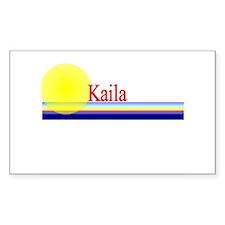 Kaila Rectangle Decal