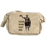 Ceaser Drank Craft Beer Messenger Bag