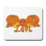 Halloween Pumpkin Levi Mousepad