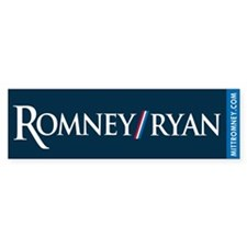 Romney - Ryan '12 Bumper Sticker