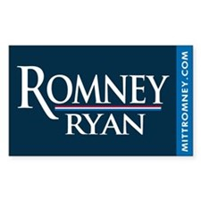 Romney - Ryan '12 Decal