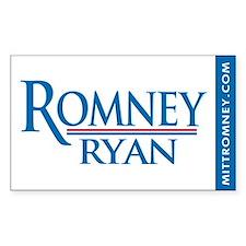 Romney - Ryan '12 Decal