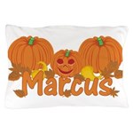 Halloween Pumpkin Marcus Pillow Case
