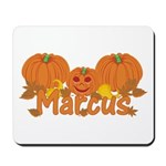 Halloween Pumpkin Marcus Mousepad