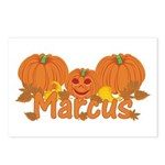 Halloween Pumpkin Marcus Postcards (Package of 8)