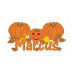 Halloween Pumpkin Marcus 35x21 Wall Decal