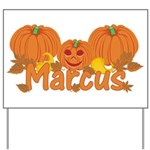 Halloween Pumpkin Marcus Yard Sign