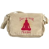 Take Your Meds Messenger Bag