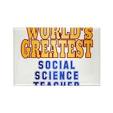 World's Greatest Social Science Teacher Rectangle